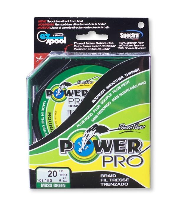 TRESSE POWER PRO VERTE 275 mts