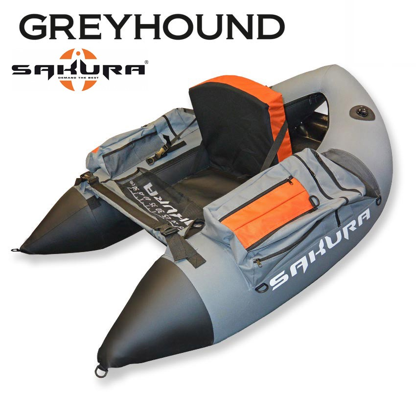 Float tube Greyhound SFT 01 Grey