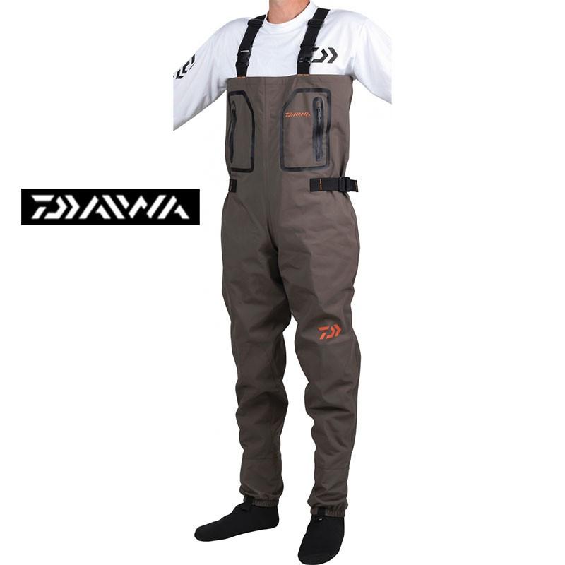 Waders y pantalones transpirantes 4 capas con forro de neopreno