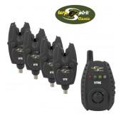 Coffret 4 detecteurs VTE+Centrale